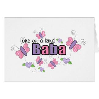 Één van een Vriendelijke Baba Briefkaarten 0