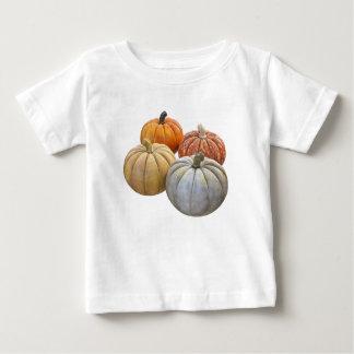 Een verscheidenheid van Pompoenen Baby T Shirts