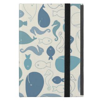 Een walvis van een hoesje van de Tijd iPad! iPad Mini Hoesje