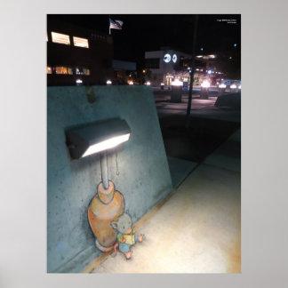 EEN WEINIG Lichte Lezing Poster