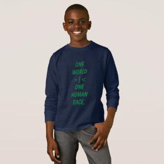 Één Wereld, Één overhemd van het kind van het T Shirt