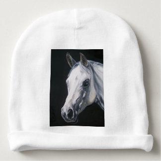 Een wit Paard Baby Mutsje