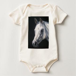Een wit Paard Baby Shirt