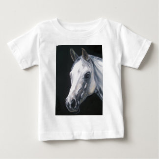 Een wit Paard Baby T Shirts