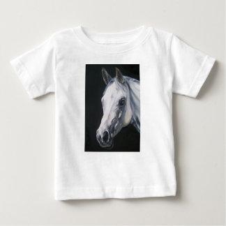 Een wit Paard Baby T Shirts