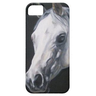 Een wit Paard Barely There iPhone 5 Hoesje