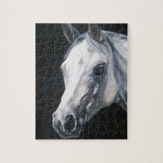 Een wit Paard Puzzel
