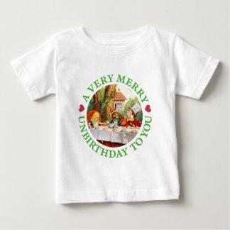 Een zeer Vrolijke Unbirthday aan u! Baby T Shirts