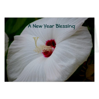 Een zegen van het Nieuwjaar Wenskaart