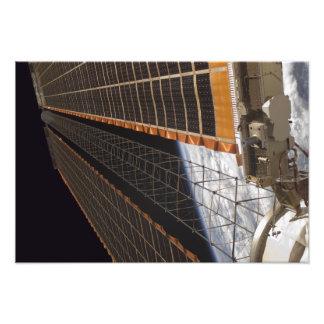 Een zonneserievleugel footprint