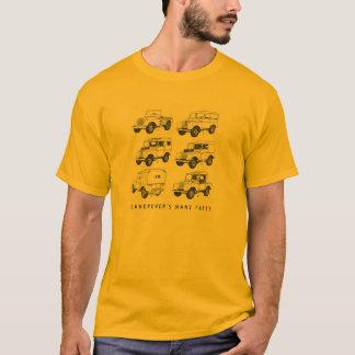 Eend van de Wandeling van de Auto van Land Rover T Shirt