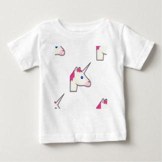 eenhoorn emoji baby t shirts
