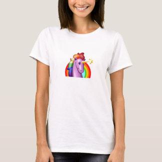 Eenhoorn en Regenboog T Shirt