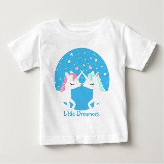 Eenhoorn in klantgericht liefdeoverhemd baby t shirts