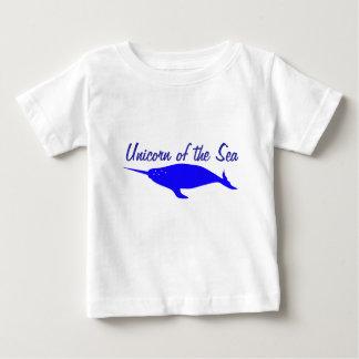 Eenhoorn van het Zee Baby T Shirts