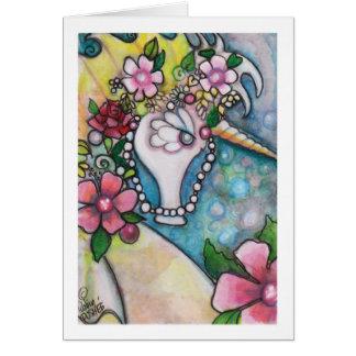Eenhoorn van het Zee Briefkaarten 0
