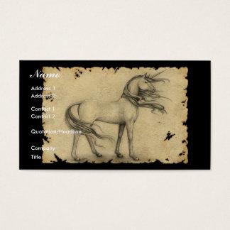 Eenhoorn Visitekaartjes