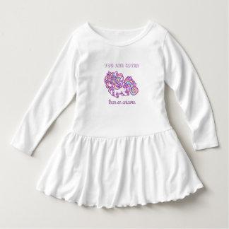 Eenhoorn voor baby baby jurk