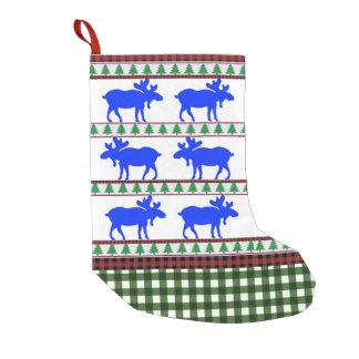 Eens in een Blauwe Amerikaanse eland - Kous Kleine Kerstsok