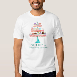Eenvormige de Zaken van de Bakkerij van het Baksel T-shirts