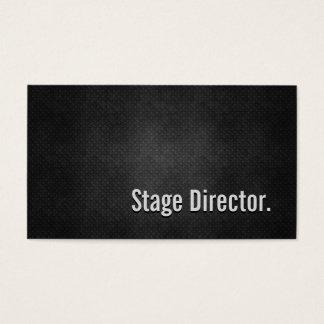Eenvoud van het Metaal van de regisseur de Koele Visitekaartjes