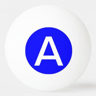 Eenvoudig Blauwe Stevige Kleur Pingpongbal