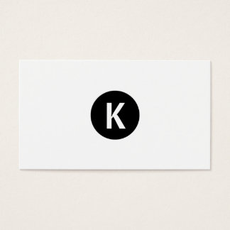 Eenvoudig duidelijk wit modern zwart visitekaartjes