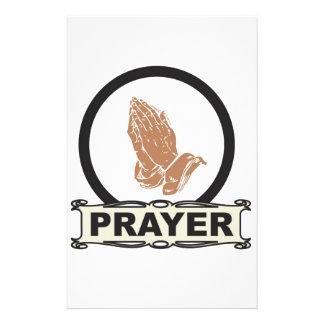 Eenvoudig gebed briefpapier