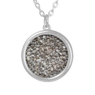 Eenvoudig Grint Zilver Vergulden Ketting
