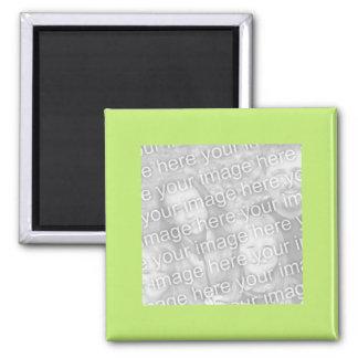 eenvoudig groen fotolijst magneet
