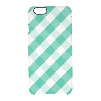 Eenvoudig Groen wit St Patrick gingangpatroon Doorzichtig iPhone 6/6S Hoesje