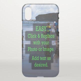 Eenvoudig klik en vervang Afbeelding Uw Te maken iPhone X Hoesje