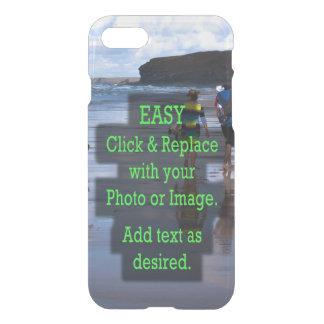 Eenvoudig klik en vervang Foto om Uw te Creëer iPhone 8/7 Hoesje