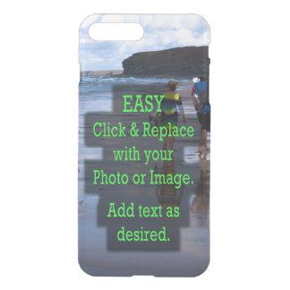 Eenvoudig klik en vervang Foto om Uw te maken iPhone 8/7 Plus Hoesje