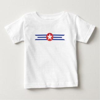 Eenvoudig Patriottisch Baby T Shirts