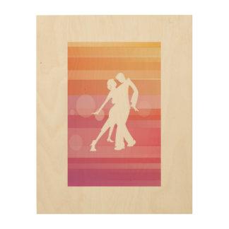 eenvoudig tango houten canvas