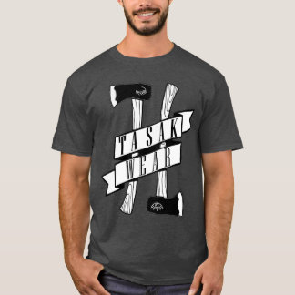 Eenvoudig   TASAK DRAAG de BasisT-shirt van   T Shirt