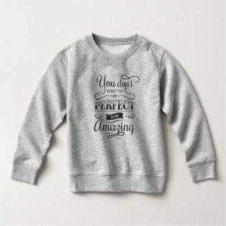 Eenvoudig & Verbazend Inspirerend Citaat   Kinder Fleece