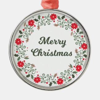 Eenvoudige BloemenKroon | van Kerstmis Ornament