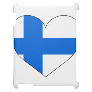 Eenvoudige de Vlag van Finland iPad Case