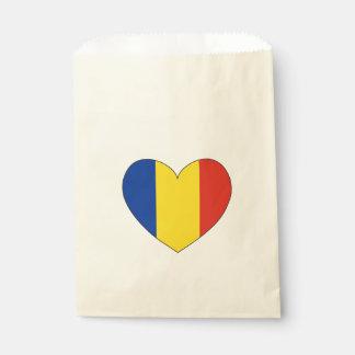 Eenvoudige de Vlag van Roemenië Bedankzakje