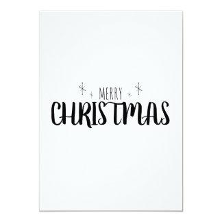 Eenvoudige en Elegante Kerstkaart Kaart
