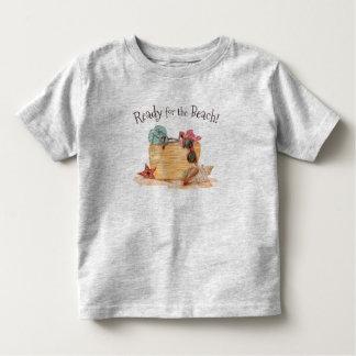 Eenvoudige Klaar voor de Zomer | van het Strand Kinder Shirts