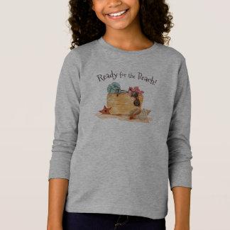 Eenvoudige Klaar voor het Overhemd van het Sleeve T Shirt