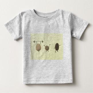Eenvoudige maar toch Rotsachtige T-shirt