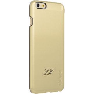 Eenvoudige Met monogram van het Manuscript van het Incipio Feather® Shine iPhone 6 Plus Hoesje
