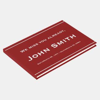 Eenvoudige, Minimalistische Sympathie Guestbook