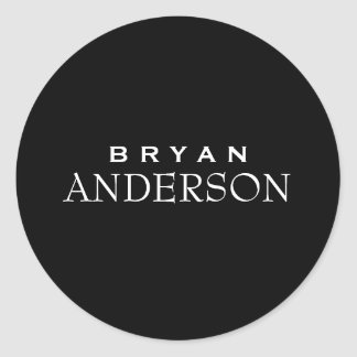 Eenvoudige & Moderne Professionele Sticker