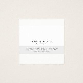 Eenvoudige Professionele Moderne Minimalistische Vierkante Visitekaartjes