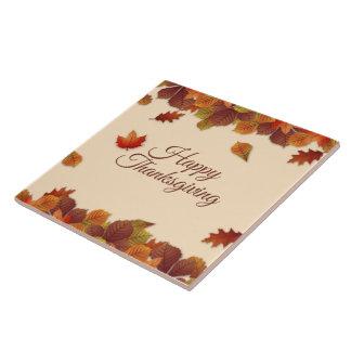 Eenvoudige Thanksgiving | van de Bladeren van de Keramisch Tegeltje